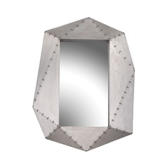 Sterling Hedron Wall Mirror