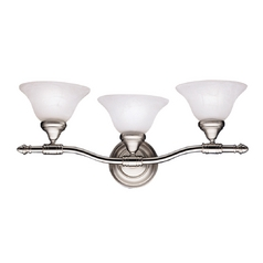 Kichler Bathroom Light in Brushed Nickel Finish