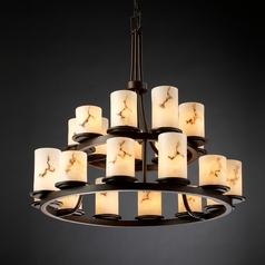 Justice Design Group Lumenaria Collection Chandelier