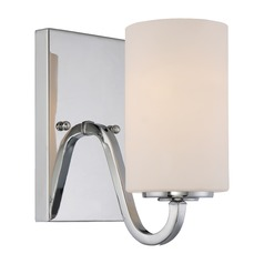 Nuvo Lighting Willow Polished Nickel Sconce