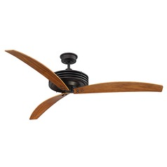 Savoy House Lighting Fairfax English Bronze Ceiling Fan with Light