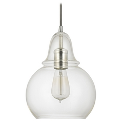 Capital Lighting Polished Nickel Mini-Pendant Light