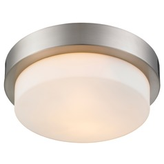 Golden Lighting Pewter Flushmount Light