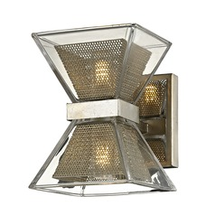 Troy Lighting Expression Silver Leaf LED Bathroom Light