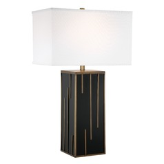 Lite Source Forte Table Lamp with Rectangle Shade