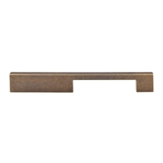 Modern Cabinet Pull in German Bronze Finish
