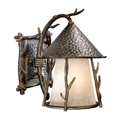 Woodland Autumn Patina Outdoor Wall Light by Vaxcel Lighting