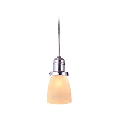 Hudson Valley Lighting Mini-Pendant Light with Beige / Cream Glass 3101-SN-348AC