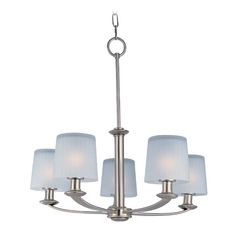 Maxim Lighting Finesse Satin Nickel Chandelier