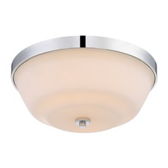 Nuvo Lighting Willow Polished Nickel Flushmount Light