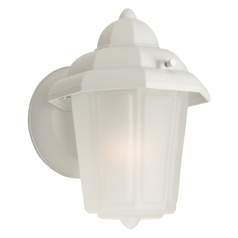 Craftmade Lighting Contractors Matte White Outdoor Wall Light