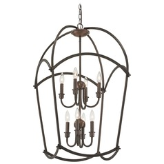 Minka Lavery Jupiter's Canopy Harvard Court Bronze Plated Pendant Light
