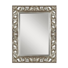 The Uttermost Company Mirror in Distressed Silver Leaf Finish 09511