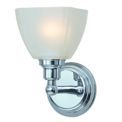 Jeremiah Bradley Chrome Sconce