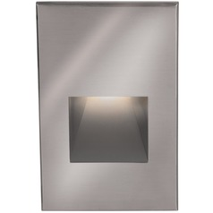 WAC Lighting Stainless Steel LED Recessed Step Light