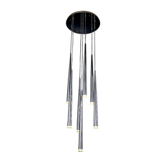 Avenue Lighting Highland Avenue Chrome LED Multi-Light Pendant