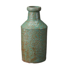 Rustic Jungle Milk Bottle