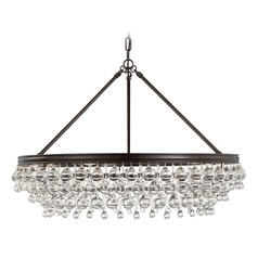 Crystorama Lighting Calypso Vibrant Bronze Pendant Light