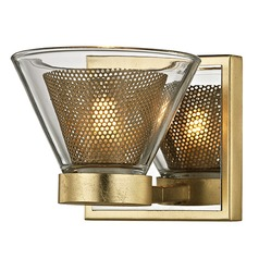 Troy Lighting Wink Gold Leaf LED Sconce