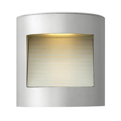 Titanium LED Outdoor Wall Light by Hinkley Lighting