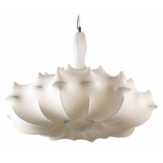 Avenue Lighting Melrose Place White Pendant Light