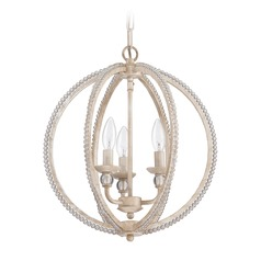 Craftmade Antique Linen Mini-Chandelier