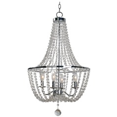 Kenroy Home Celeste Chrome Mini-Chandelier