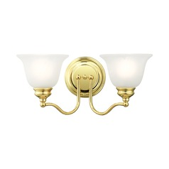 Livex Lighting Essex Polished Brass Bathroom Light