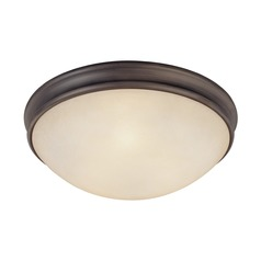 Capital Lighting Oil Rubbed Bronze Flushmount Light