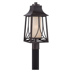 Quoizel Hunter Imperial Bronze Post Light