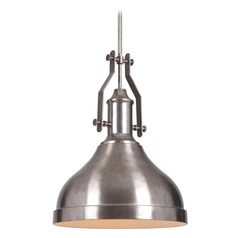 Craftmade Tarnished Silver Pendant Light