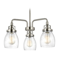Sea Gull Lighting Belton Brushed Nickel Mini-Chandelier