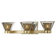 Troy Lighting Wink Gold Leaf LED Bathroom Light