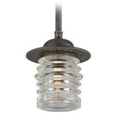 Troy Lighting Watson Charred Zinc Pendant Light