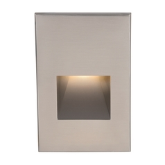 Wac Lighting Brushed Nickel LED Recessed Step Light