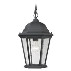 Cornerstone Lighting Temple Hill Matte Textured Black Outdoor Hanging Light