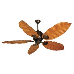 Craftmade Lighting Kona Bay Oiled Bronze Ceiling Fan Without Light