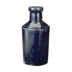 Rustic Denim Milk Bottle