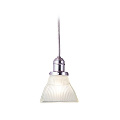 Hudson Valley Lighting Mini-Pendant Light with White Glass 3101-SN-45F