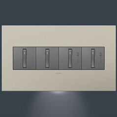 Legrand Adorne Accent Nightlight 4-Gang