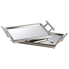 Cyan Design Mirror Stainless Steel Tray