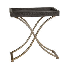 Uttermost Lighting Accent Table in Ebony Finish 24240