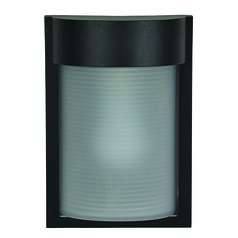Access Lighting Destination Black LED Outdoor Wall Light