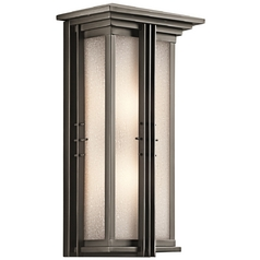 Kichler Outdoor Wall Light in Bronze Finish