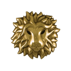 Door Knocker in Brass Finish