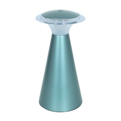 Access Lighting Tut Chi Acrylic / Powder Blue LED Accent Lamp
