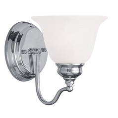 Livex Lighting Essex Chrome Sconce