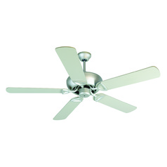 Craftmade Lighting Leeward Brushed Satin Nickel Ceiling Fan Without Light