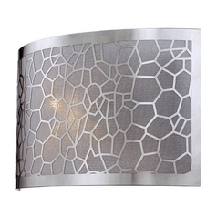 Lite Source Lighting Kyra Chrome Sconce