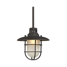 9-Inch Nautical Mini-Pendant Light in Bronze
